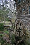 Dilapidated Gristmill Wheel Royalty Free Stock Photo