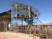 Abandoned Guano Mine, Grand Canyon West, Arizona Royalty Free Stock Photos