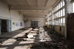Abandoned hall Royalty Free Stock Photography