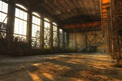Abandoned hall Royalty Free Stock Images