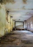 Abandoned hall Stock Image
