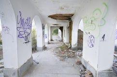 Abandoned hall Royalty Free Stock Image