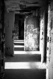 Abandoned Hallway 4 Stock Photo