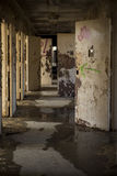 Abandoned Hallway Royalty Free Stock Images