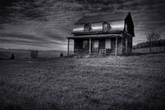 Abandoned Haunted House Royalty Free Stock Photography