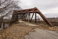 Abandoned Highway Bridge - Pennsylvania Royalty Free Stock Photo