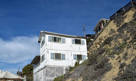 Abandoned historic home in the Crystal Cove State Park. Royalty Free Stock Photos