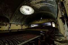 Abandoned and Historic Irem Temple Theater for Shriners - Wilkes-Barre, Pennsylvania Royalty Free Stock Photography