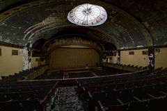 Abandoned and Historic Irem Temple Theater for Shriners - Wilkes-Barre, Pennsylvania Stock Photo