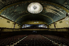 Abandoned and Historic Irem Temple Theater for Shriners - Wilkes-Barre, Pennsylvania Royalty Free Stock Photos