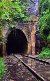 Abandoned historic railway tunnel Royalty Free Stock Photo
