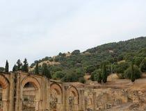 Abandoned historical village Stock Photo
