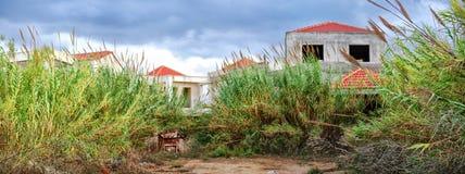 Abandoned holiday resort Stock Image