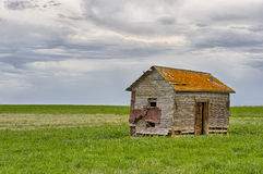 Abandoned home in Dorothy Royalty Free Stock Image
