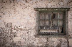 Abandoned Home, Humberstone Ghost Town, Atacama Desert, Chile Royalty Free Stock Photography