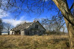 Abandoned Home In Nashville Tennessee Royalty Free Stock Photography