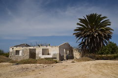 Abandoned home in Mexico near La Paz Royalty Free Stock Image
