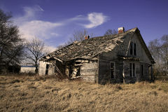Abandoned Home in Rural Tennessee Stock Photo