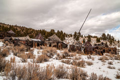 Abandoned Homes and Businesses Stock Images