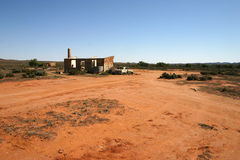 Abandoned Homestead Australian Outback Stock Image