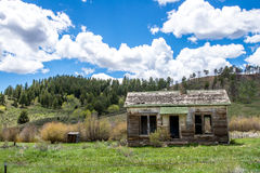 Abandoned Homestead  Colorado Stock Photos