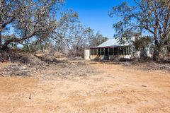Abandoned homestead in outback Australia. Royalty Free Stock Photography