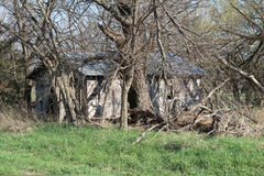 Abandoned homestead. Think of all the memories this house holds looking back thru the years Stock Images