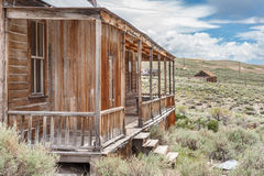 The abandoned Hoover House in Bodie Ghost Town Royalty Free Stock Photography