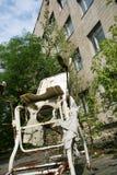 Abandoned hospital Stock Image