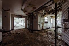 Abandoned Hospital - Brecksville Veterans Administration - Ohio. Inside the abandoned Brecksville Veterans Administration Hospital VA in Brecksville, Ohio stock photography