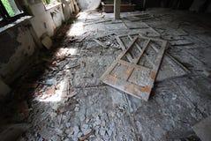 Abandoned Hospital Building Stock Photo