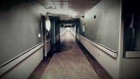 Abandoned Hospital Hallway Royalty Free Stock Photo
