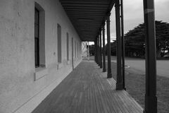 Abandoned hospital. In Quarantine station in Portsea Royalty Free Stock Images