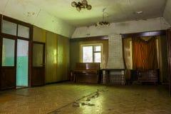 Abandoned hostel hall Stock Photos