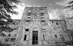 Abandoned hotel Royalty Free Stock Photography