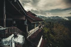 Abandoned hotel in Bali island Royalty Free Stock Image