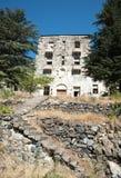 Abandoned hotel building Stock Image