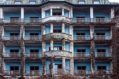 Abandoned hotel exterior Royalty Free Stock Photography