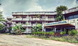 Abandoned hotel Royalty Free Stock Images
