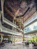 Abandoned hotel Stock Image