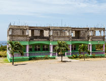 Abandoned Hotel in Tropics Royalty Free Stock Photo