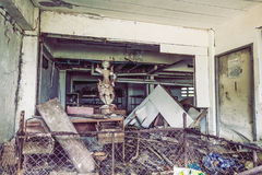 Abandoned hotel Royalty Free Stock Photo