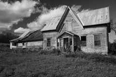 Abandoned House. New England  Scene In Vermont Stock Photography