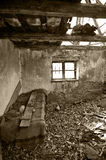 Abandoned house Stock Image