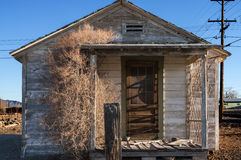 Abandoned house. In Nevada desert town Royalty Free Stock Images