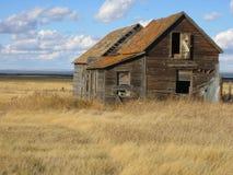 Abandoned house. In Saskatchewan Stock Image