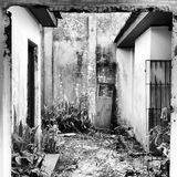 Abandoned House In Beautiful Scenario. Royalty Free Stock Images