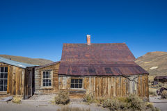 Abandoned house in Bodie, California Stock Images