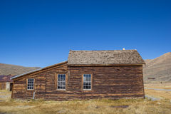Abandoned house in Bodie, California Royalty Free Stock Image