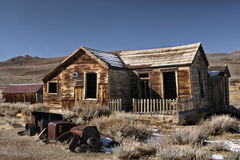Abandoned House at Bodie Stock Photos